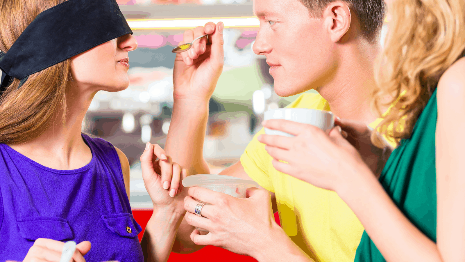 Party Games For Teens Blindfold Tasting