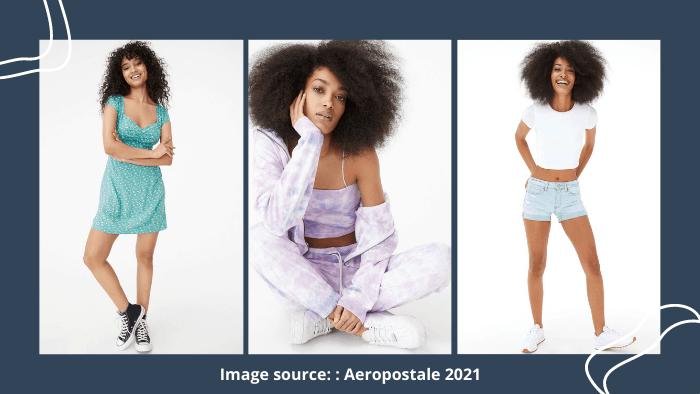 Aeropostale clothing website teens
