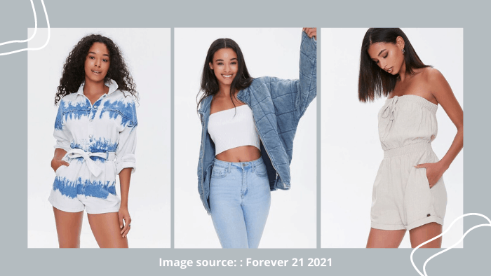 Forever 21 clothing for teens