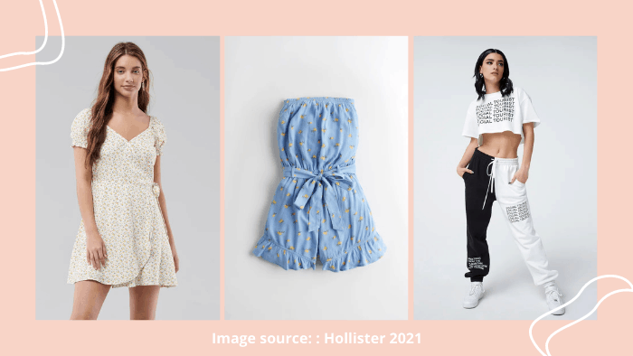 Hollister online website for teenagers