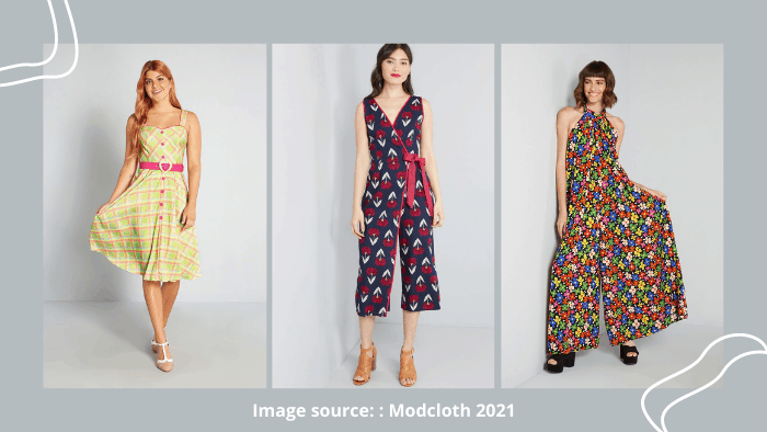 Modcloth online shopping website for young adults