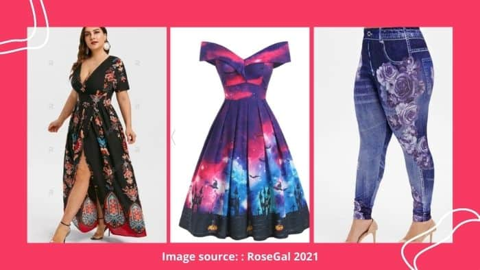 Rosegal clothing store