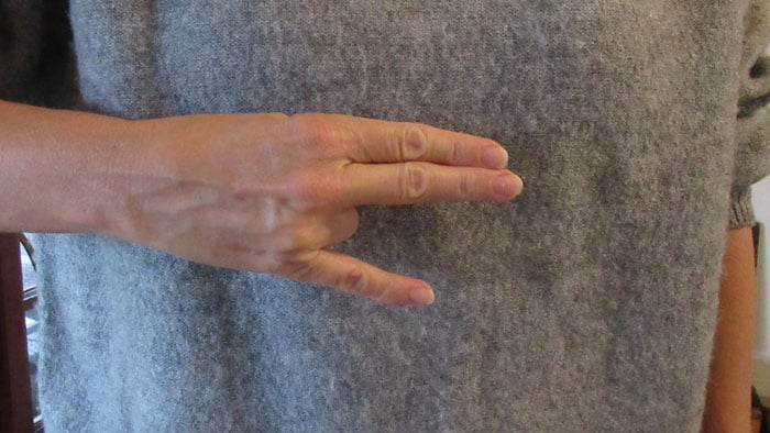 The Shocker hand sign
