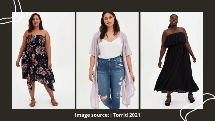 Torrid fashion website