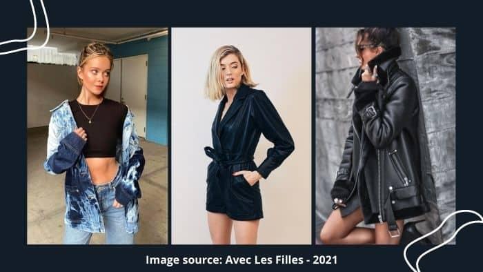 avec les filles online fashion