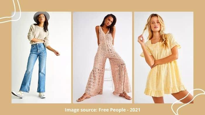 Free People teen fashion site
