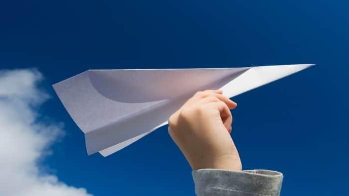 paper plane indoor game teenage boys