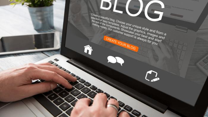 teen hobby boys blogging
