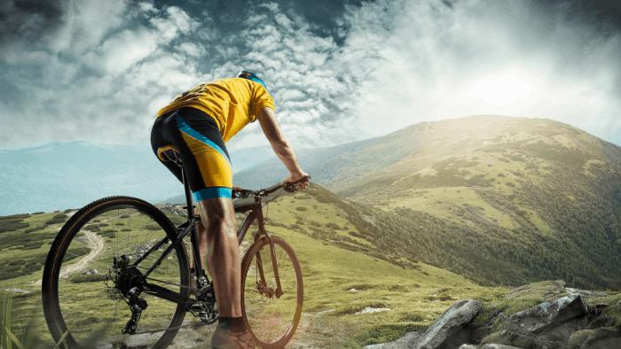 teen hobby boys cycling