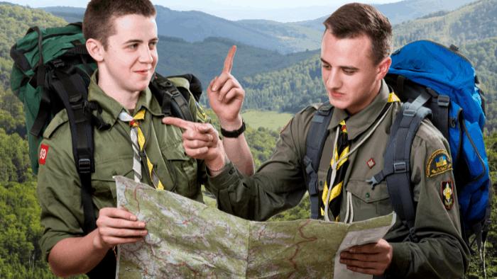teen hobby boys scouting