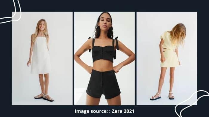 Zara online fashion for teens