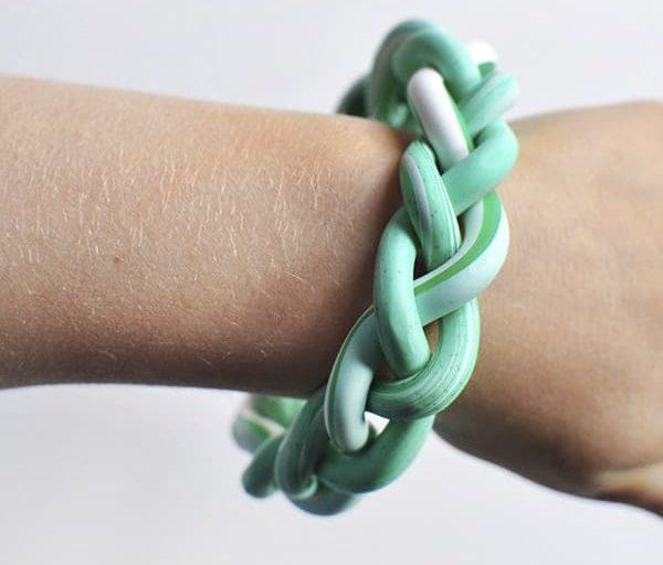 DIY braided clay