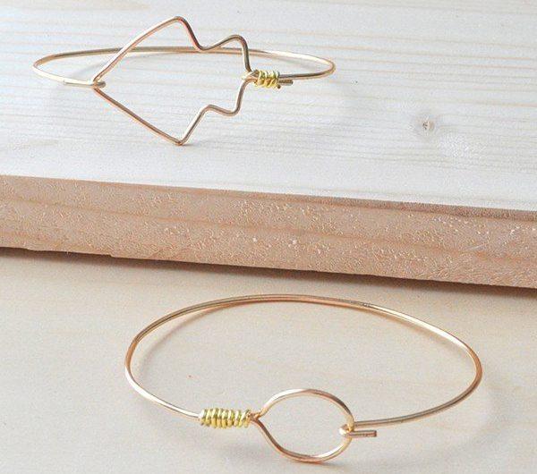 DIY-Circle-Arrow-Wire-Bangle