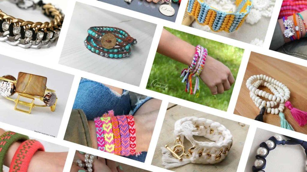 DIY bracelets ideas & tutorials
