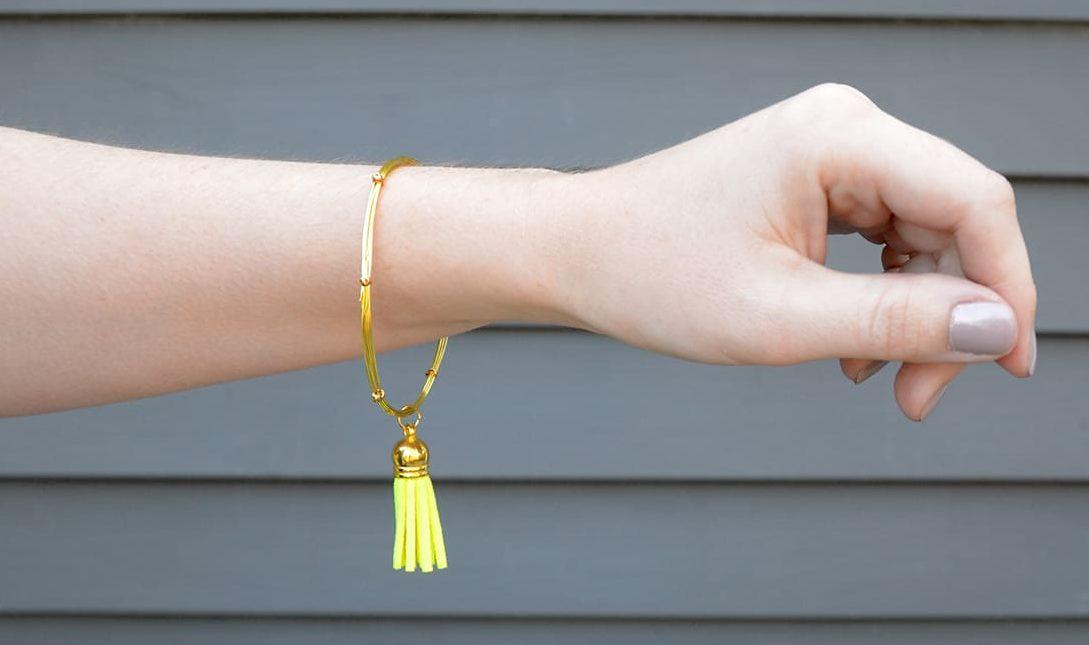 Wire-Tassel-Bracelet