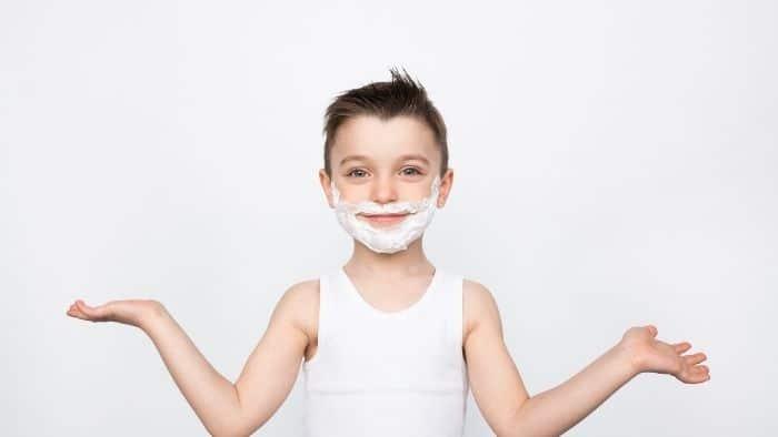 Shaving Foam shoot off