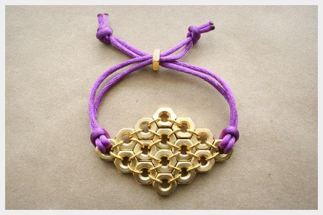 hex-nut-bracelet