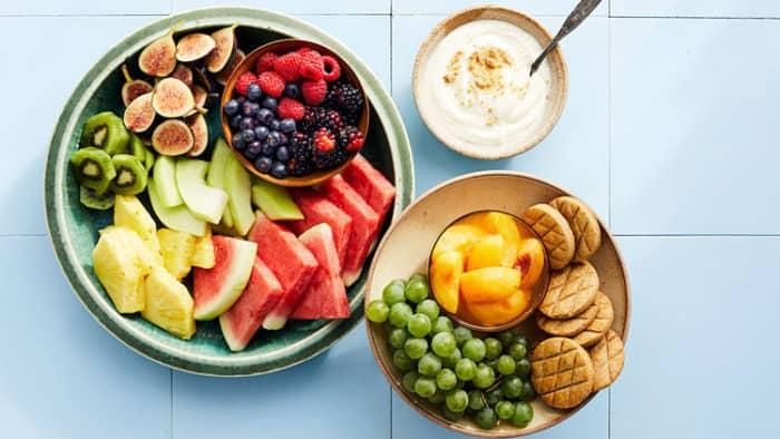 movie night fruit platter