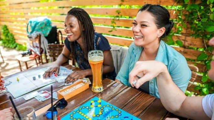 staycation board games