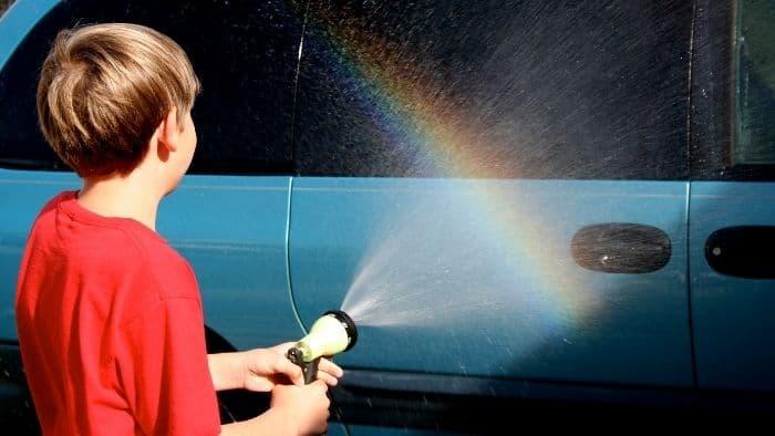 summer jobs for teens washing cars