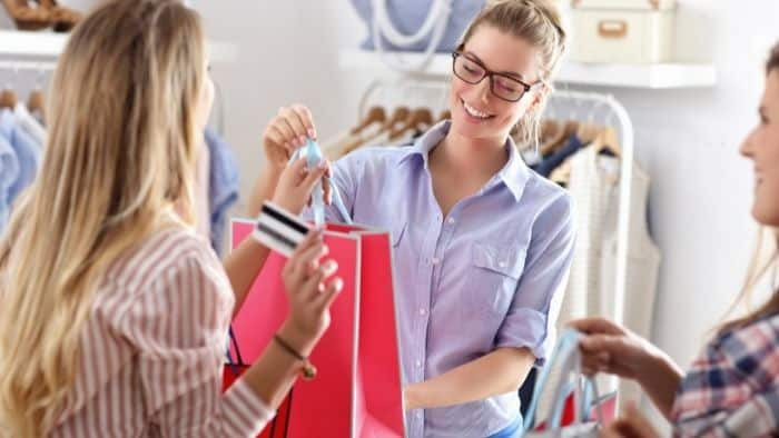 summer jobs for teens in clothing store