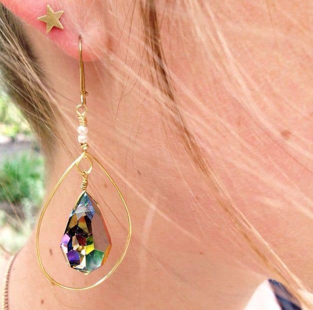 45 Adorable DIY Earrings - Ideas & Tutorials