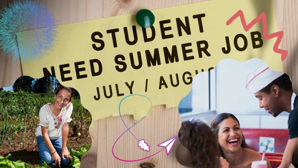 teen summer jobs