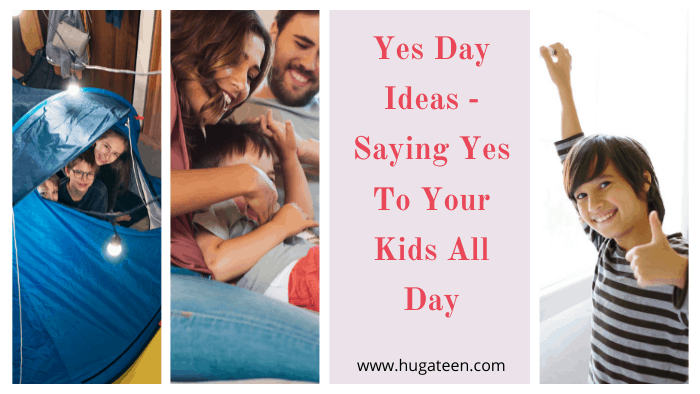 Yes day ideas for family