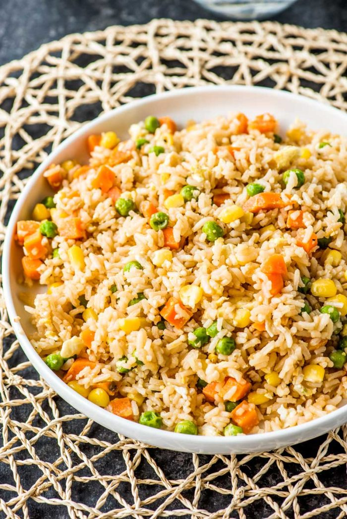 Ten Minute Simple Egg Fried Rice