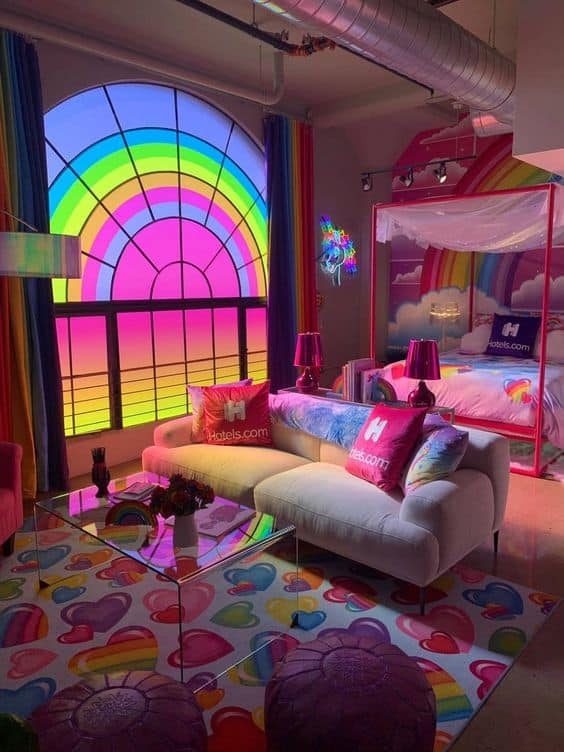90's vibe decor