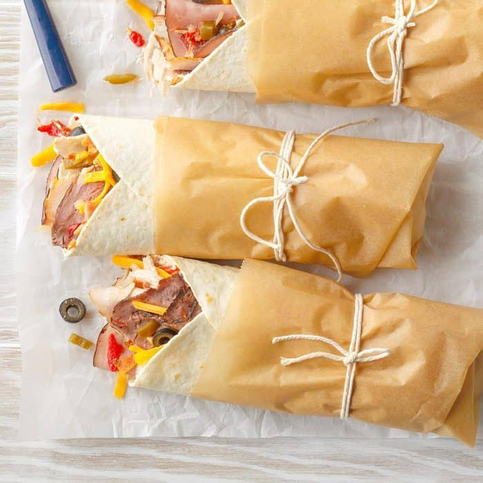 lunch idea for teenagers roll ups