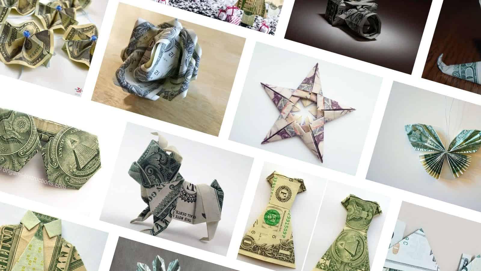 DIY Money origami