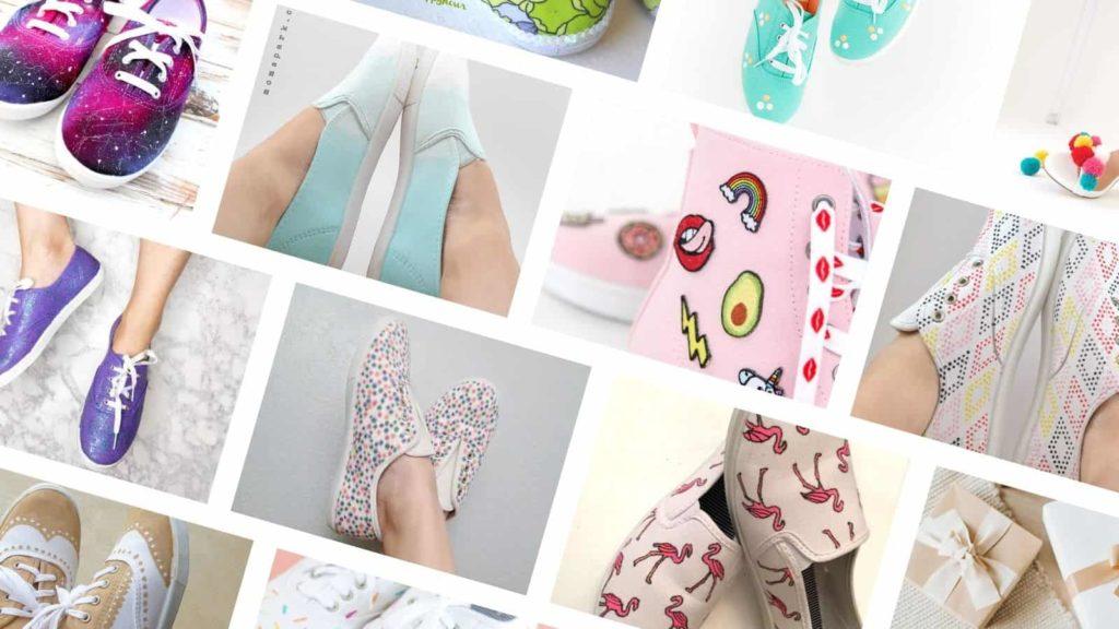 DIY Shoe Decorating Ideas & Tutorials
