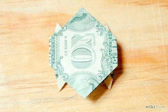 Origami Dollar Bill Turtle