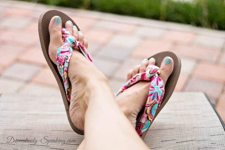 DIY Fabric-Flip-Flops