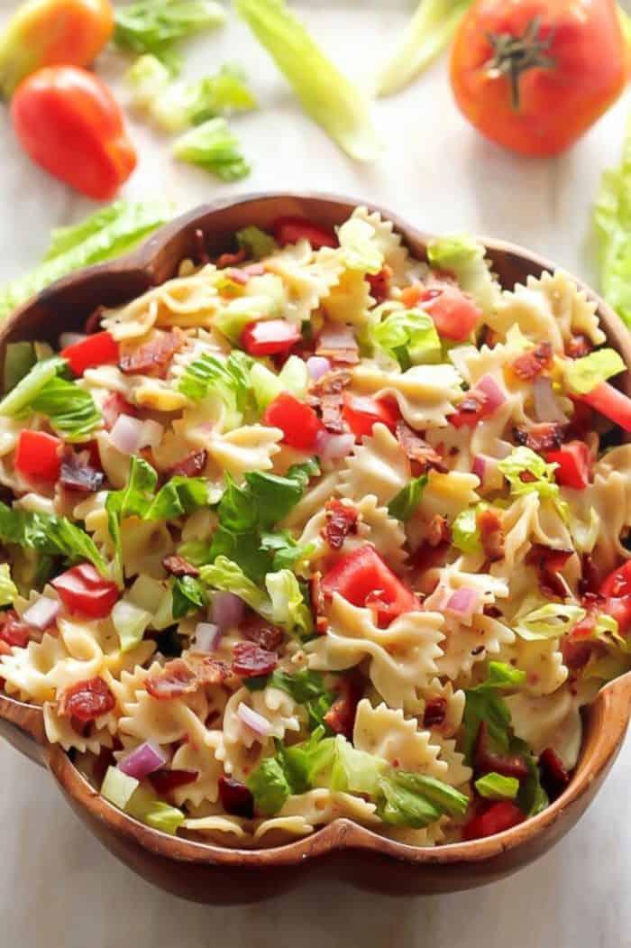 Easy BLT Pasta Salad