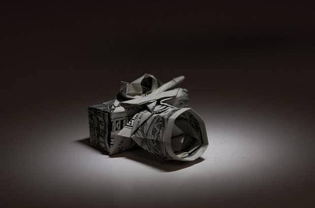 Origami Money Camera