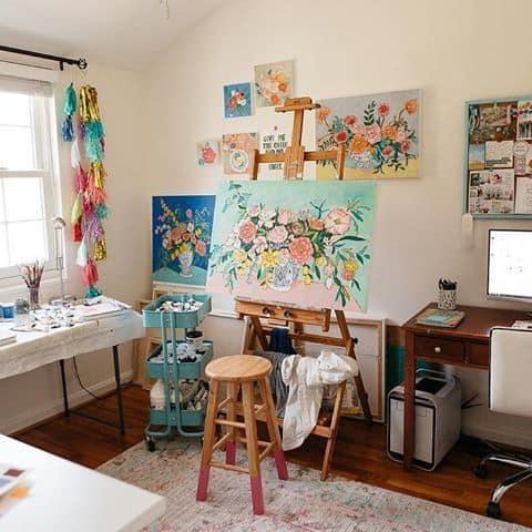 art room teen hangout idea