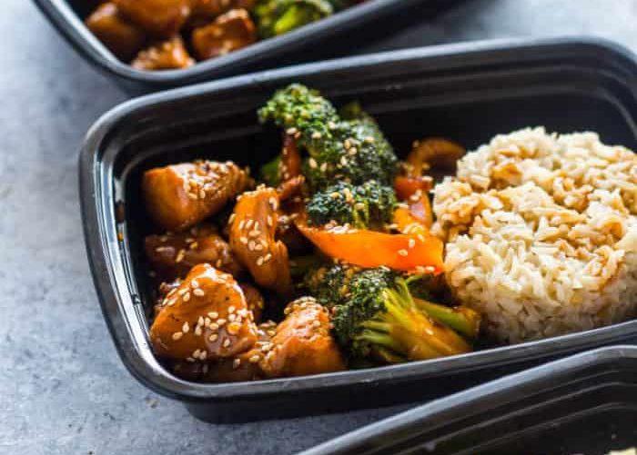 School Lunch Ideas For Teens Teriyaki Chicken