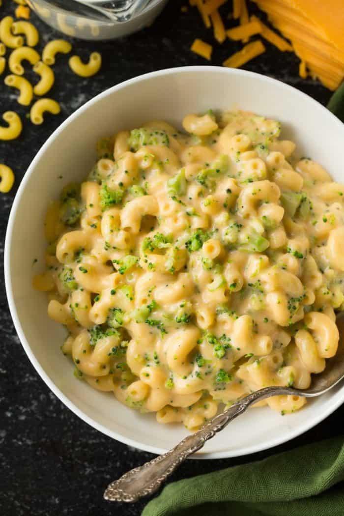 Stove Top Broccoli Mac and Cheese