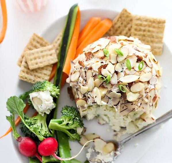 healthy snack cheese ball