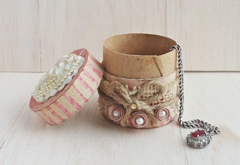 DIY Recycled Jewelry Box