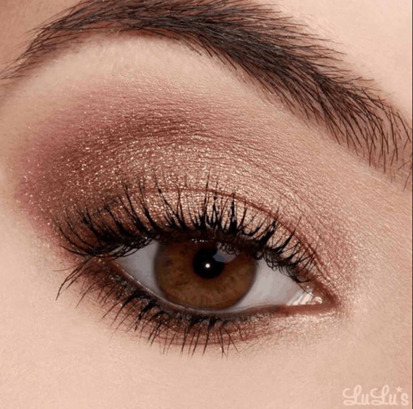 Midsummer Bronze Eye Shadow Look