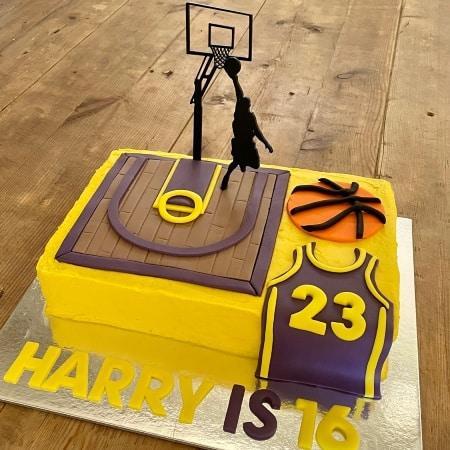 Basketball Court Cake Kit