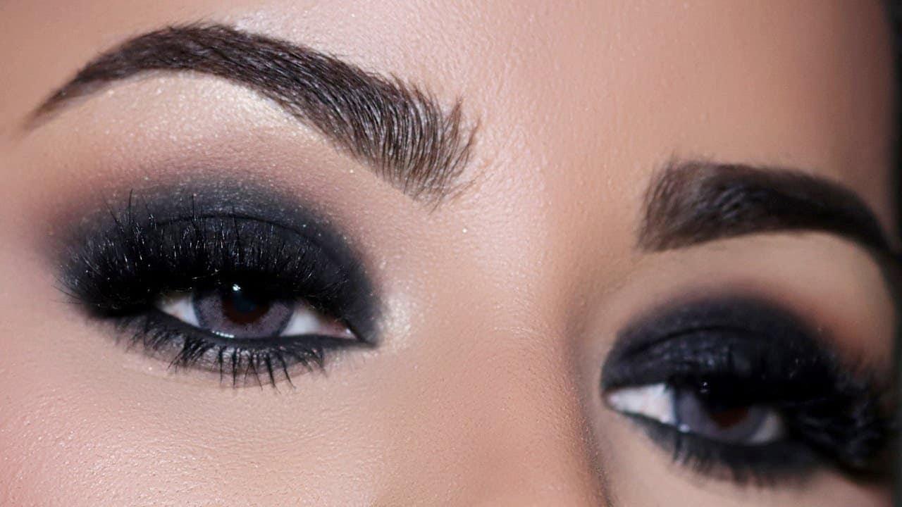 black eyeshadow looks