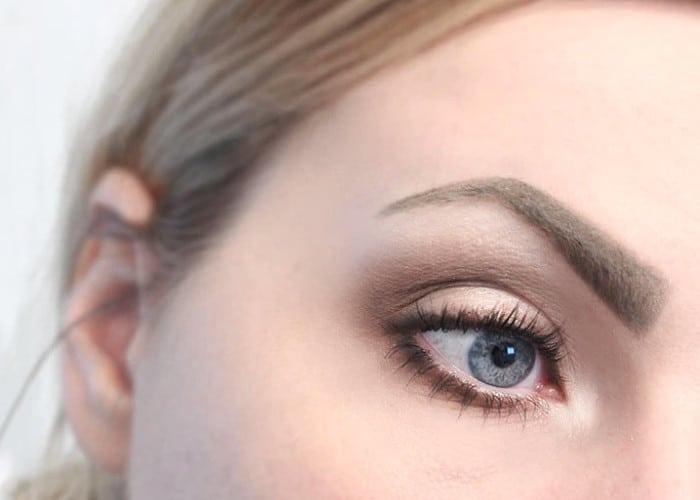 Neutral Smokey easy Eyeshadow Look