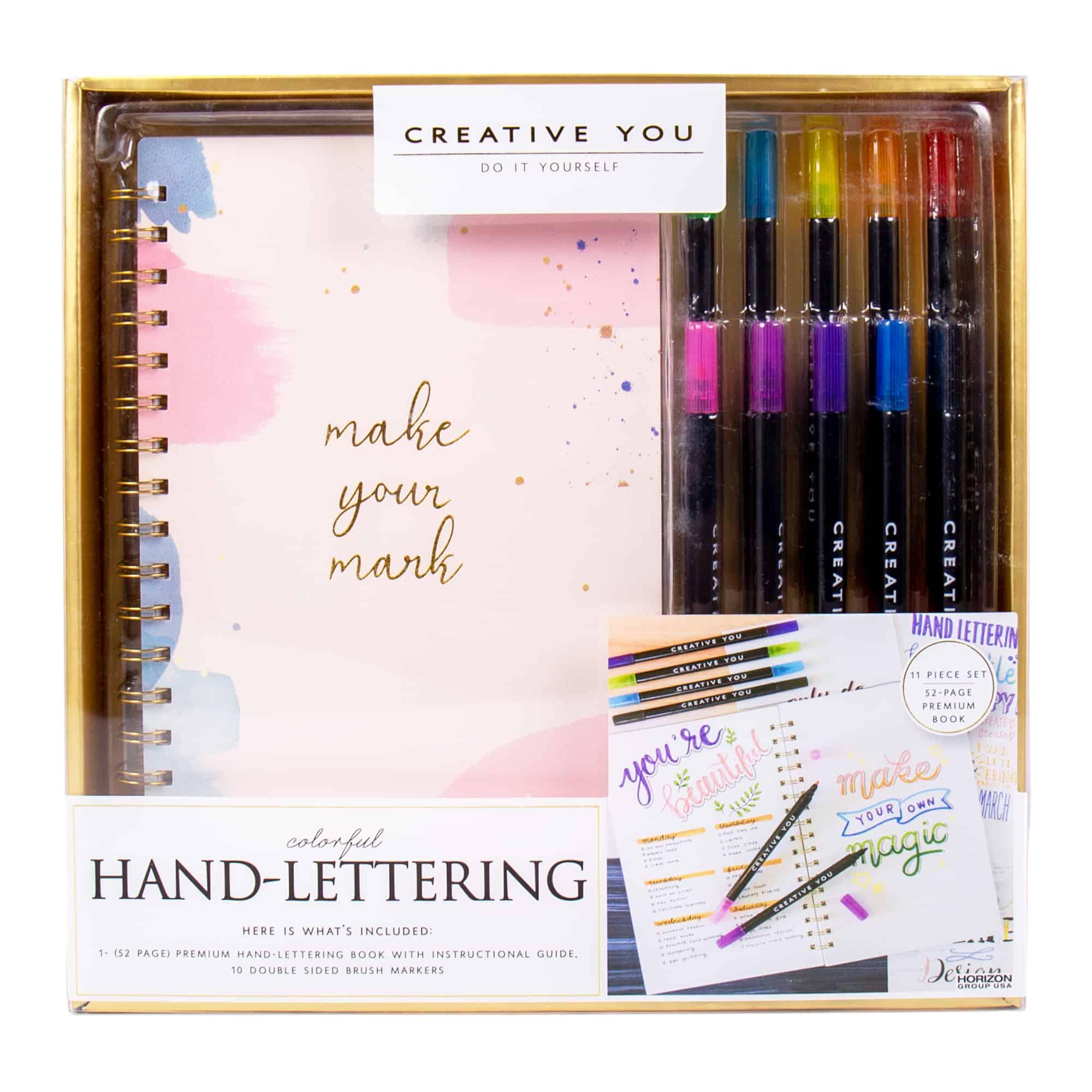 hand letting art kit