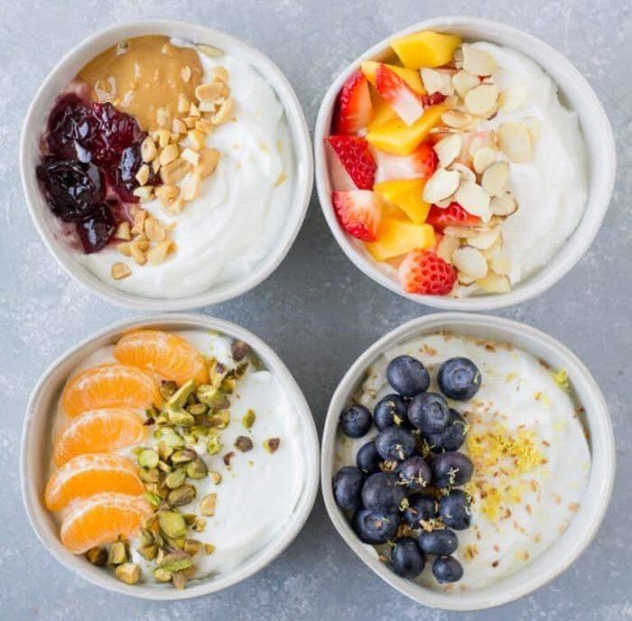 Healthy Yogurt Bowls