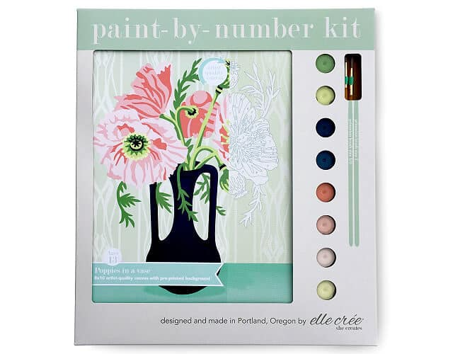 paint-by-number kit