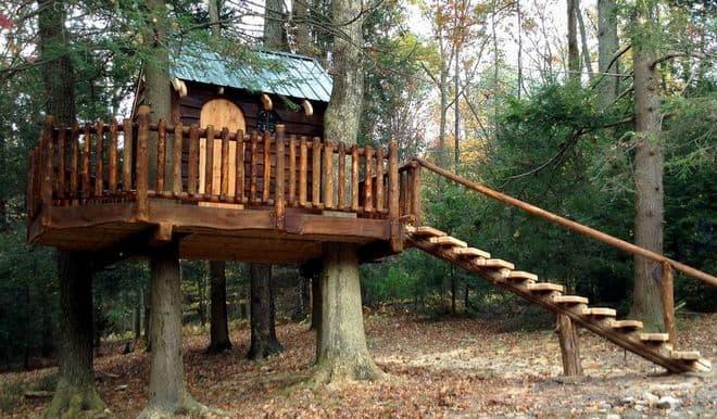 treehouse porch ideas